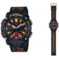 Casio G-Shock Traditional Pattern Series Bhutan Textile GA-2000BT-1AJR