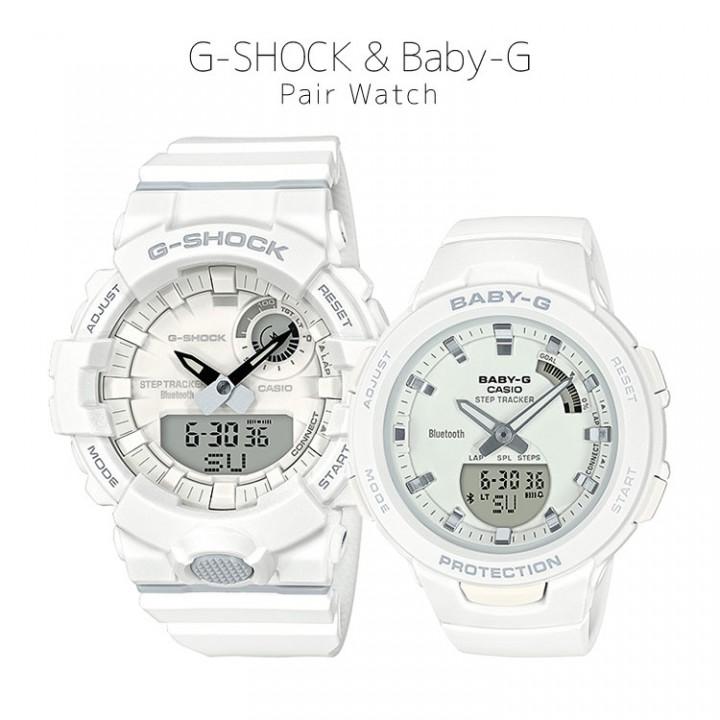 CASIO G-SHOCK/BABY-G G G-SQUAD GBA-800-7AJF/BSA-B100-7AJF
