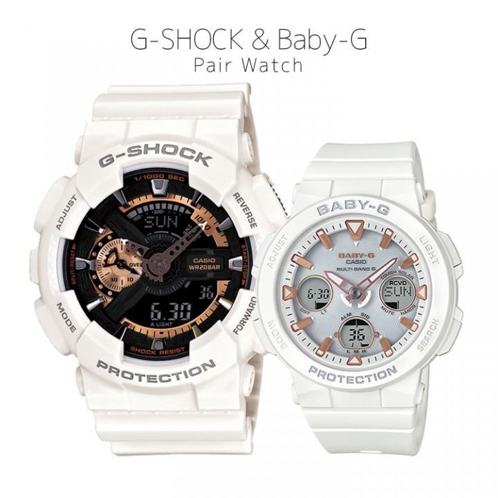 CASIO G-SHOCK/BABY-G GA-110RG-7AJF/BGA-2500-7AJF