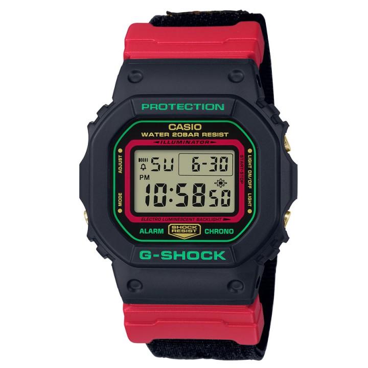 Casio G-Shock Throwback 1990s Winter Premium DW-5600THC-1JF