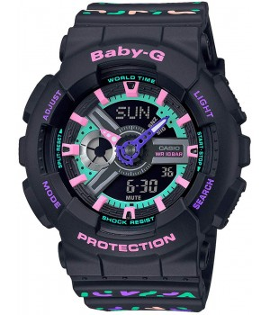 Casio Baby-G Geometric BA-110TH-1AJF