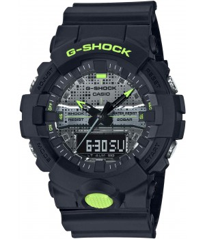 Casio G-Shock Digital Camo Face Series GA-800DC-1AJF