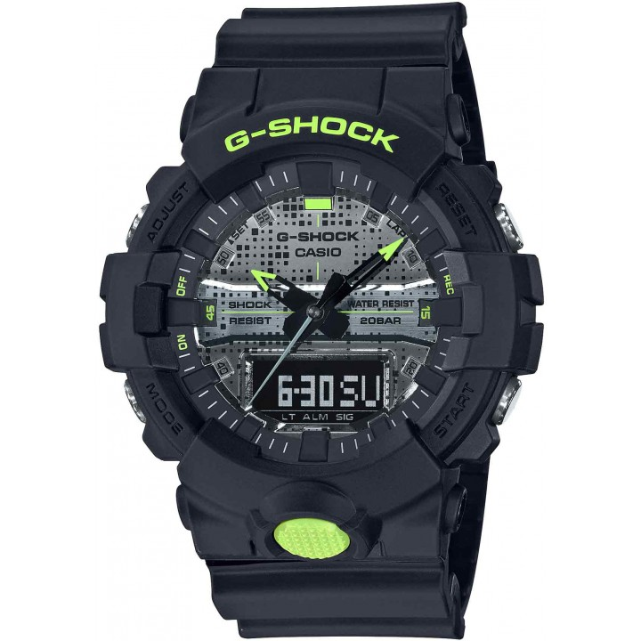 Casio G-Shock Digital Camo Face Series GA-800DC-1AJF