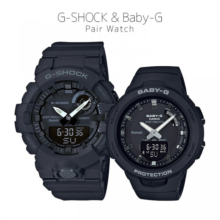 CASIO G-SHOCK/BABY-G G-SQUAD GBA-800-1AJF/BSA-B100-1AJF