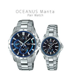 CASIO OCEANUS MANTA PAIR OCW-S4000-1AJF/OCW-S350-1AJF