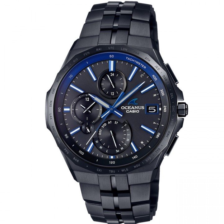 Casio Oceanus Manta All Black DLC OCW-S5000B-1AJF