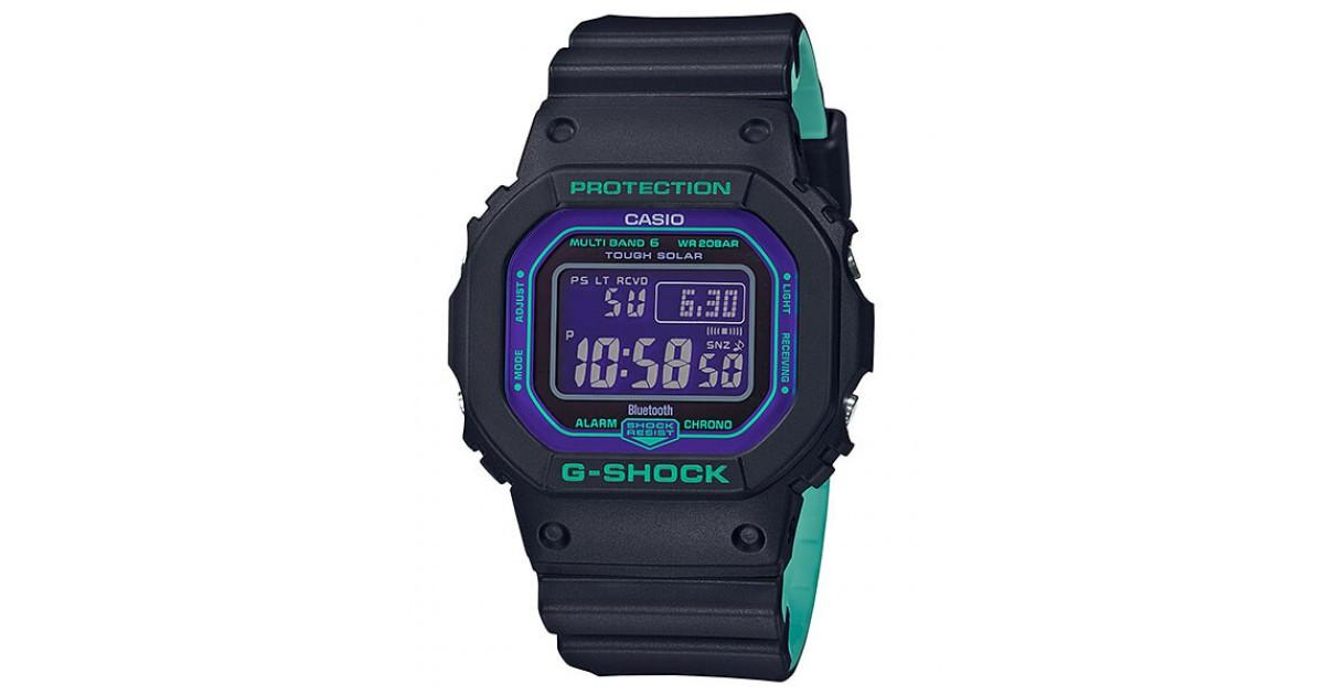 Casio G Shock Black 90s Color Gw B5600bl 1jf Sakurawatches Com