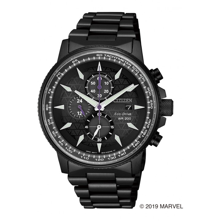 Citizen Collection Black Panther Marvel Special Model CA0297-52W
