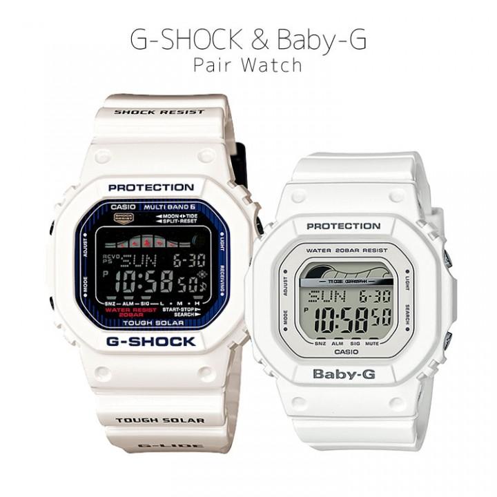 CASIO G-SHOCK/BABY-G G-LIDE GWX-5600C-7JF/BLX-560-7JF