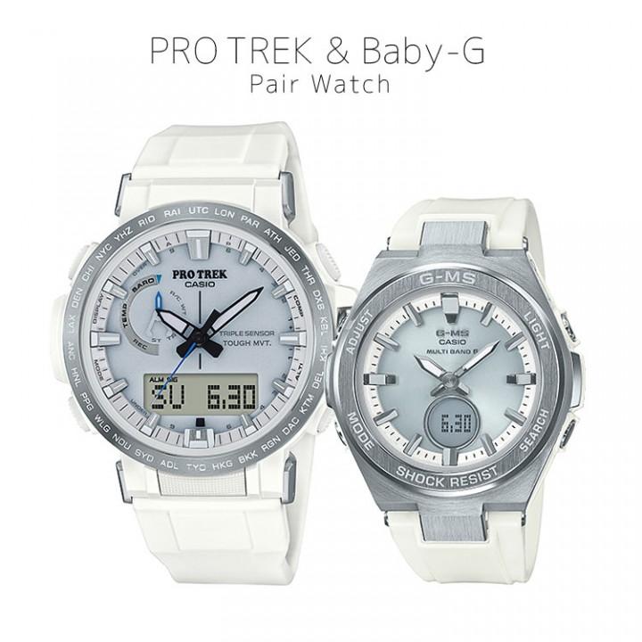 Casio PRO TREK/BABY-G PRW-60-7AJF/MSG-W200-7AJF