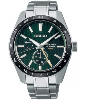 Seiko Presage Sharp Edged Series Automatic GMT SARF003