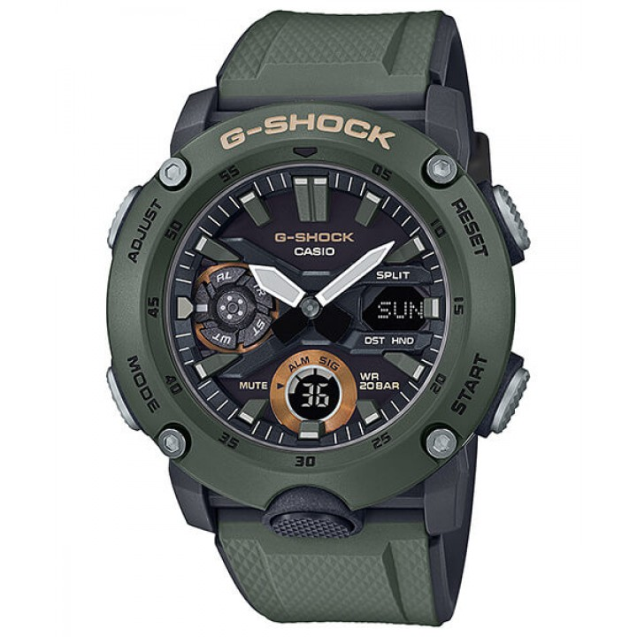 Casio G-Shock Carbon Core Guard Basic GA-2000-3AJF