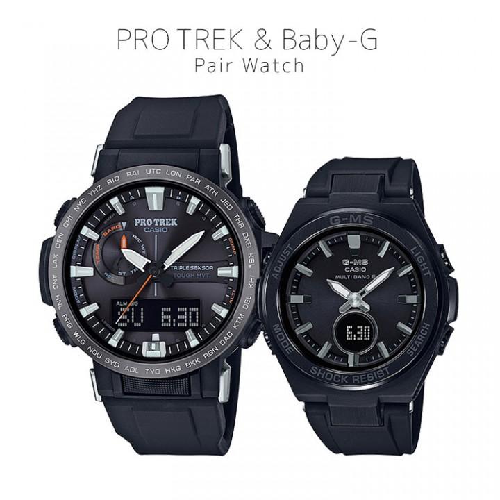 CASIO PRO TREK/BABY-G PRW-60Y-1AJF/MSG-W200G-1A2JF