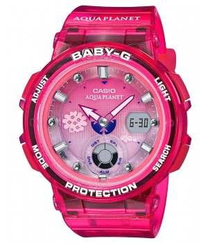 Casio Baby-G Love The Sea And The Earth Aqua Planet Collaboration Model BGA-250AQ-4AJR
