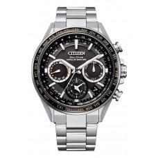 Citizen Attesa Eco-Drive GPS Satellite Radio Clock F950 Double Direct Flight ACT Line CC4015-51E