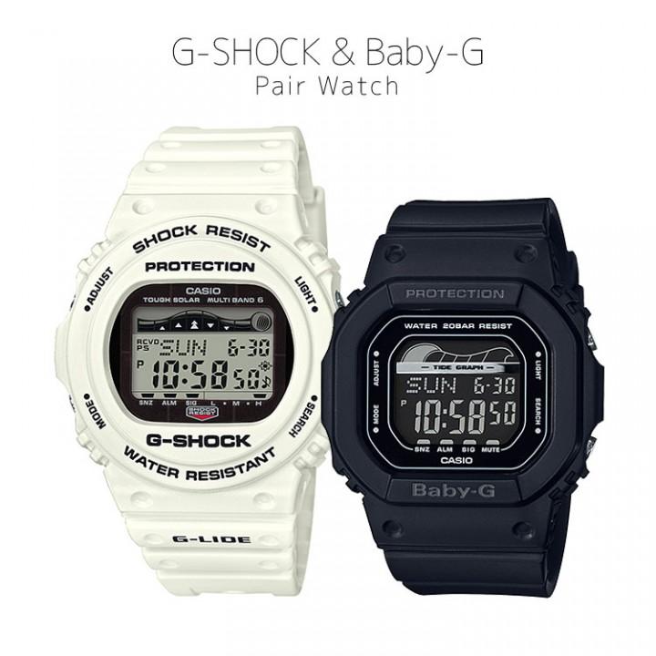 CASIO G-SHOCK/BABY-G G-LIDE PAIR GWX-5700CS-7JF/BLX-560-1JF