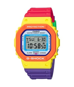 Casio G-Shock Psychedelic Multi Colors DW-5610DN-9JF
