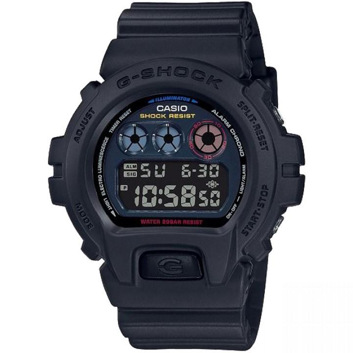 Casio G-Shock Black × Multi Color Accent Neo Tokyo DW-6900BMC-1JF