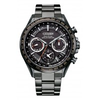 Citizen Attesa Eco-Drive GPS Satellite Radio Clock F950 Double Direct Flight ACT Line CC4014-62E