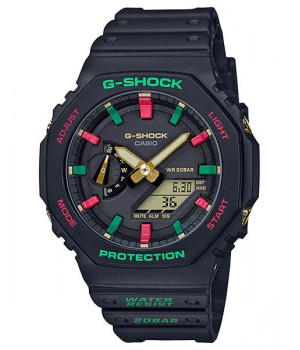 Casio G-Shock Throwback 1990s Winter Premium GA-2100TH-1AJF