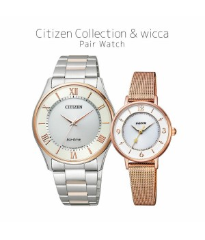 CITIZEN COLLECTION/WICCA BJ6484-50A/KP3-465-13