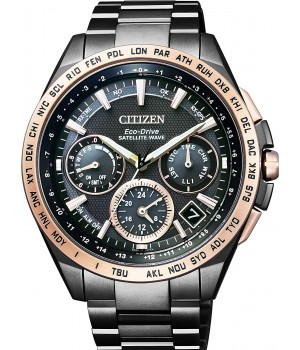 CITIZEN ATTESA SATELLITE WAVE GPS LIGHT IN BLACK LIMITED MODEL CC9016-60E