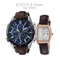 Casio EDIFICE/SHEEN EQB-501XBL-2AJF/SHS-4501PGL-7AJF