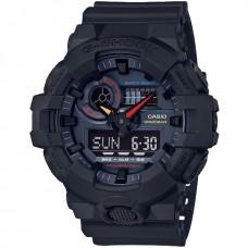 Casio G-Shock Black × Multi Color Accent Neo Tokyo GA-700BMC-1AJF