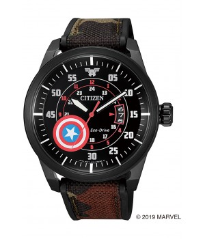 Citizen Collection Captain America Marvel Special Model AW1367-05W
