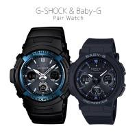 Casio G-SHOCK/BABY-G G AWG-M100A-1AJF/BGA-2500-1AJF