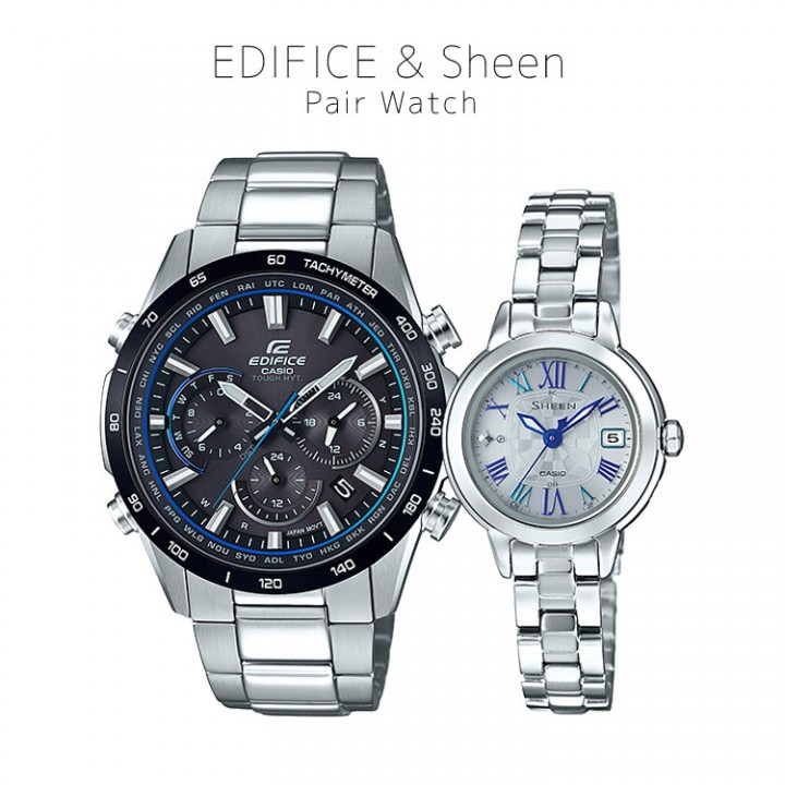 Casio EDIFICE/SHEEN EQW-T650DB-1AJF/SHW-5000D-7AJF