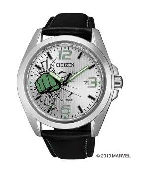 Citizen Collection Hulk Marvel Special Model AW1431-24W