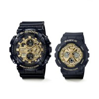 CASIO G-SHOCK/BABY-G GARISH COLOR SERIES Pair GA-140GB-1A1JF/BA-130-1A3JF