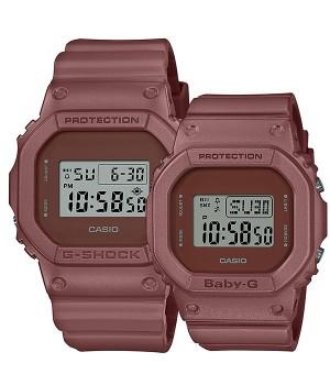 CASIO G-SHOCK/BABY-G Pair DW-5600ET-5JF/BGD-560ET-5JF