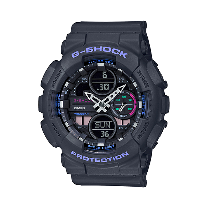 Casio G-Shock S-series BRIGHT VIVID COLOR GMA-S140-8AJR