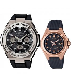CASIO G-SHOCK/BABY-G Pair G-STEEL G-MS GST-W110-1AJF/MSG-W300G-1AJF