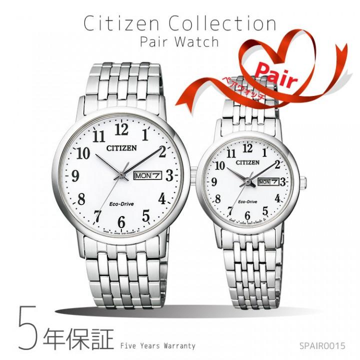 CITIZEN COLLECTION PAIR BM9010-59A/EW3250-53A