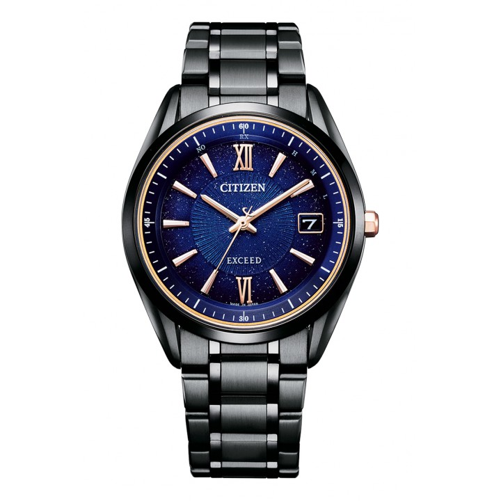 Citizen Exceed Cosmic Blue Collection Titanium Technology 50th Anniversary Limited Model AS7164-99L