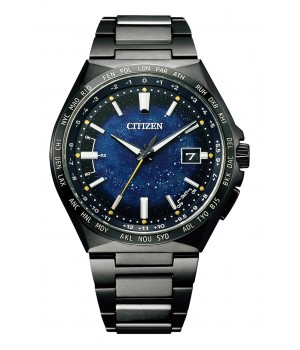 Citizen Attesa Cosmic Blue Collection Titanium Technology 50th Anniversary Limited Model CB0219-50L