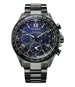 Citizen Attesa Cosmic Blue Collection Titanium Technology 50th Anniversary Limited Model CC4015-86L