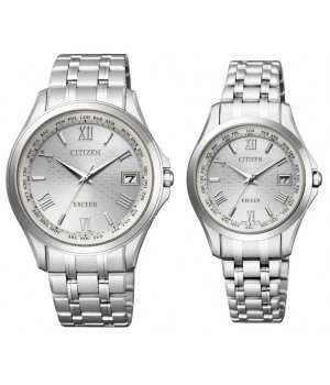 CITIZEN EXCEED Pair CB1080-52A/EC1120-59A