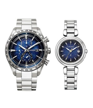 CITIZEN ATTESA/XC DEAR COLLECTION Pair AT8181-71L/ES9460-53M
