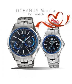 Casio OCEANUS MANTA PAIR OCW-S3400-1AJF/OCW-S340-1AJF