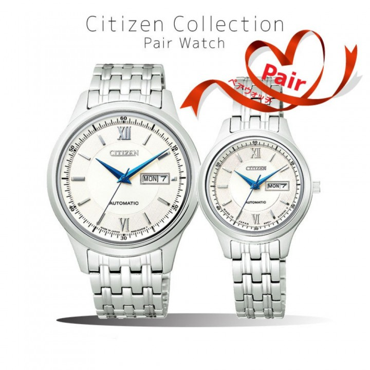 CITIZEN COLLECTION PAIR NY4050-54A/PD7150-54A